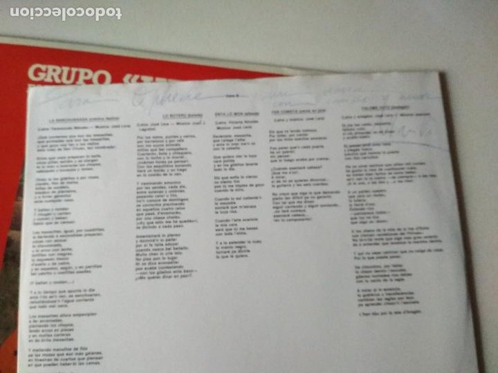 Discos de vinilo: VAL D,ECHO NUGANDO 1992 GRUPO FOLKLORICO,HUESCA - Foto 5 - 265916358