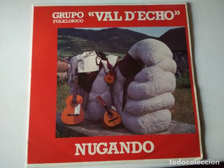 VAL D,ECHO NUGANDO 1992 GRUPO FOLKLORICO,HUESCA (Música - Discos - LP Vinilo - Country y Folk)