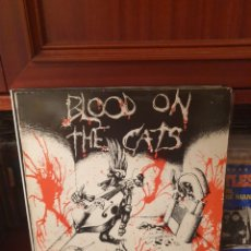 Discos de vinilo: VARIOS / BLOOD ON THE CATS / ANAGRAM RECORDS 1984. Lote 265923803