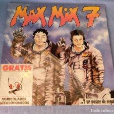 Disques de vinyle: MAX MIX 7 DOBLE. Lote 265962428