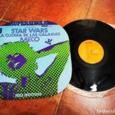 Discos de vinilo: MECO STAR WARS MUSICA INSPIRADA EN LA GUERRA DE LAS GALAXIAS MAXI SINGLE VINILO 1977 JOHN WILLIAMS. Lote 265969733