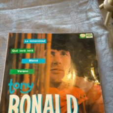 Discos de vinilo: DISCO VINILO EP TONY RONALD : LA INMENSIDAD, QUE SERA SERA, MAMA, VERANO. Lote 265977603