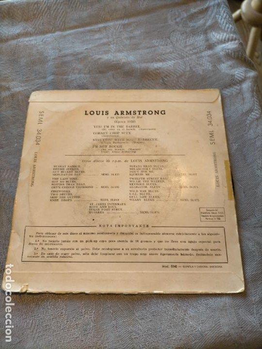 Discos de vinilo: Disco vinilo EP Louis armstrong jazzing again with armstrong (epoca 1926) regal - Foto 2 - 265977908