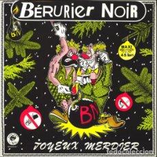 Discos de vinilo: BÉRURIER NOIR – JOYEUX MERDIER. Lote 265979768