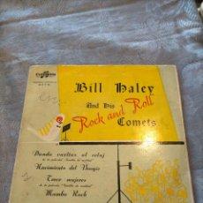 Dischi in vinile: DISCO VINILO BILL HALEY AND HIS ROCK AND ROLL COMETS DANDO VUELTAS AL RELOJ. Lote 265980763