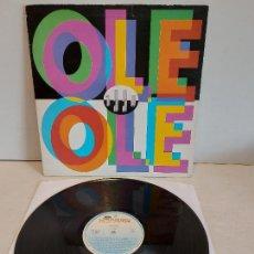 Discos de vinilo: OLE OLE / 1990 / LP-GATEFOLD - HISPAVOX-1990 / MBC. ***/***. Lote 265982288