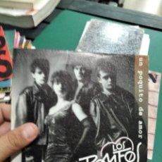 Disques de vinyle: SINGLE MUY BUEN ESTADO LOS ROMEOS UN POQUITO DE AMOR. Lote 265983343