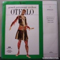 Discos de vinilo: OTELLO. Lote 266004338