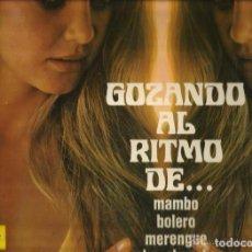 Discos de vinilo: GOZANDO A RITMO. Lote 266005288