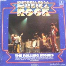 Discos de vinilo: HISTORIA DEL ROCK ROLLING STONES. Lote 266006108