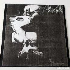 Discos de vinilo: LP ATROCITY - HALLUCINATIONS TEST PRESSING 1991. Lote 31300778