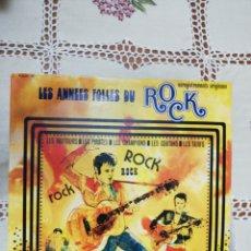 Discos de vinilo: LES ANNÉES FOLLES DU ROCK - VINILO ROCK FRANCÉS AÑOS 60 - DOBLE LP - DOS DISCOS 33 RPM. Lote 266019033