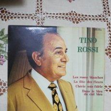 Discos de vinilo: TINO ROSSI - VINILO MUSICA FRANCESA 1972 - 33 RPM. Lote 266020658