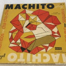 Discos de vinil: EP MACHITO MAMBOS AND CHA CHA CHA FOR DANCING - DON'T TEASE ME Y OTROS TEMAS - SEECO -PED MINIMO 7€. Lote 266026893