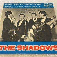 Dischi in vinile: EP THE SHADOWS - BOMBAY DUCK Y OTROS TEMAS - LA VOZ DE SU AMOEPL14.346 -PEDIDO MINIMO 7€. Lote 266027053