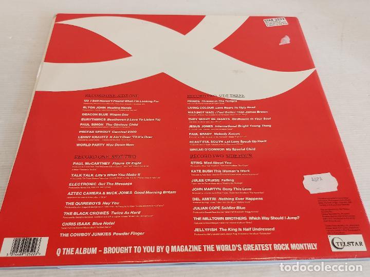 Discos de vinilo: Q / THE ALBUM / VARIOS ARTISTAS O GRUPOS / DOBLE LP-GATEFOLD - TELSTAR-1991 / MBC. ***/*** - Foto 3 - 266038668