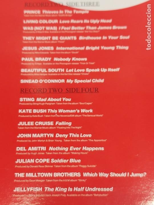 Discos de vinilo: Q / THE ALBUM / VARIOS ARTISTAS O GRUPOS / DOBLE LP-GATEFOLD - TELSTAR-1991 / MBC. ***/*** - Foto 5 - 266038668