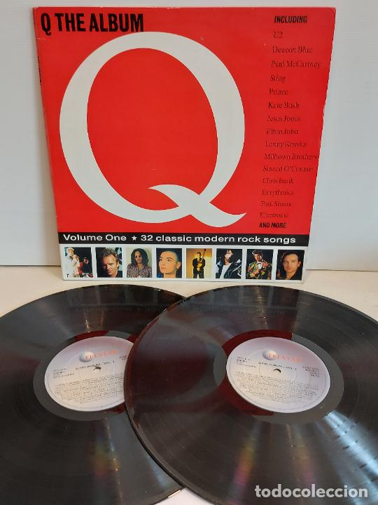 Q / THE ALBUM / VARIOS ARTISTAS O GRUPOS / DOBLE LP-GATEFOLD - TELSTAR-1991 / MBC. ***/*** (Música - Discos - LP Vinilo - Pop - Rock Internacional de los 90 a la actualidad)