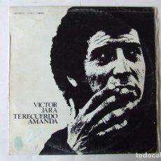 Disques de vinyle: LP VINILO VICTOR JARA TE RECUERDO AMANDA. Lote 266052153