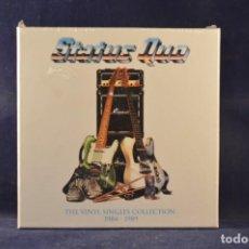Discos de vinilo: STATUS QUO - THE VINYL SINGLES COLLECTION 1984-1989 - 12 SINGLES. Lote 266062083