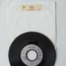 Discos de vinilo: BON JOVI, ALWAYS, SINGLE VERSION JUKEBOX REINO UNIDO. Lote 266072008