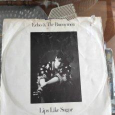 Discos de vinilo: ECHO THE BUNNY MEN - LIPS LIKE SUGAR. Lote 289464053