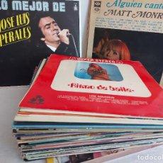 Discos de vinilo: LOTE DE 45 LPS-MAXIS / POP-ROCK VARIADO / BUENA CALIDAD GENERAL CON LEVES MARCAS DE USO. VER FOTOS.. Lote 266077508
