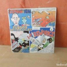 Discos de vinilo: STEPHAN & NINA / STEPHAN AND NINA - FUEGOS ARTIFICIALES - SINGLE - DISPONGO DE MAS DISCOS DE VINILO. Lote 266077918