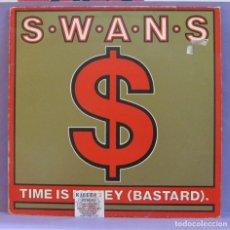 Discos de vinilo: SWAN - TIME IS MONEY (BASTARD) - MAXI SINGLE 12'. Lote 266078868