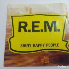 Disques de vinyle: REM/SHINY HAPPY PEOPLE/SINGLE PROMOCIONAL.. Lote 266115123