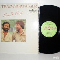 Discos de vinilo: ARTIE TRAUM & PAT ALGER - FROM THE HEART LP GUIMBARDA GS-11137 ESPAÑA 1981 VG++. Lote 266126463