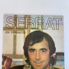 """Discos de vinilo: JOAN MANUEL SERRAT VINILO """"EN TRANSITO""""1981 PERFECTO ESTADO, VER FOTOS.(3,33 ENVÍO CERTIFICADO). Lote 266126668"""