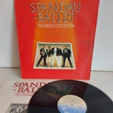 Discos de vinilo: SPANDAU BALLET / THE SINGLES COLLECTION / LP - CHRYSALIS-1985 / MBC. ***/***. Lote 266141778