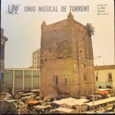 Disques de vinyle: UNIÓ MUSICAL DE TORRENT. DIRECTOR ENRIQUE ANDREU ROMERO.. Lote 266144068
