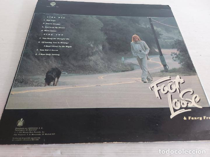 Discos de vinilo: ROD STEWART / FOOT LOOSE N FANCY FREE / LP - WARNER BROS-1977 / MBC. ***/*** - Foto 2 - 266145958