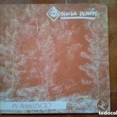 Discos de vinilo: OSCURA VISION - EN SSSILENCIO (MINI LP) 1991. Lote 266167753