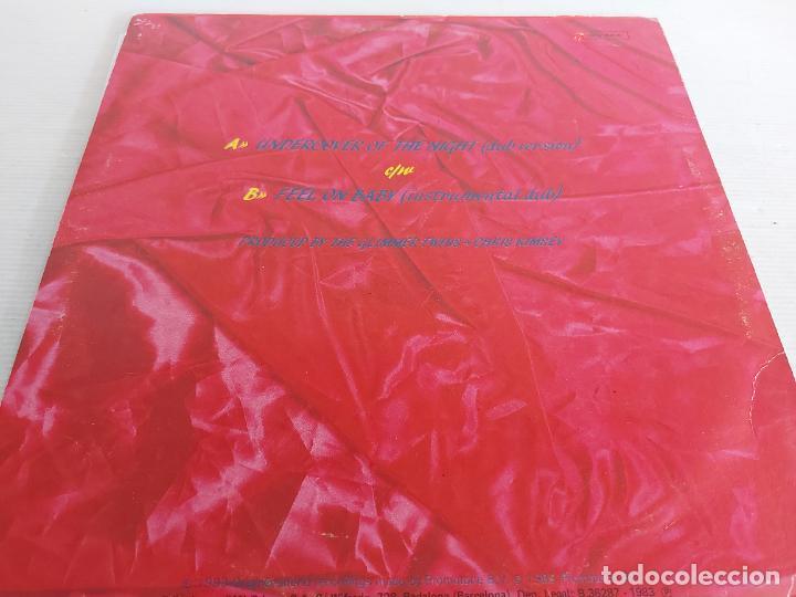 Discos de vinilo: ROLLING STONES / UNDERCOVER OF THE NIGHT / MAXI SG - EMI-1983 / MBC. ***/*** - Foto 2 - 266179243