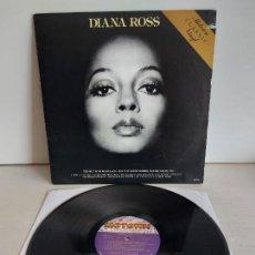 Discos de vinilo: DIANA ROSS / THEME FROM MAHOGANY / LP - MOTOWN-1976 / MBC. **/***CARPETA CON CORTE. Lote 266182043