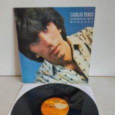 Discos de vinil: CARLOS PEREZ / ACÉRCATE MÁS / MAXI SG - MAX MUSIC-1987 / MBC. ***/***. Lote 266205373