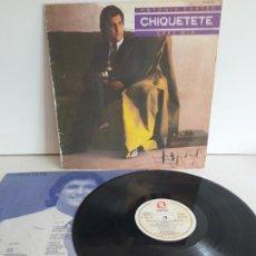 Discos de vinilo: CHIQUETETE / ERES MÍA / LP - ZAFIRO-1984 / MBC. ***/*** LETRAS.. Lote 266209483