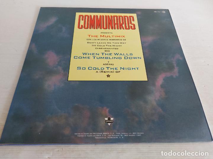 Discos de vinilo: COMMUNARDS / THE MULTIMIX / MAXI SG - LONDON-1987 / MBC. ***/*** - Foto 2 - 266210698