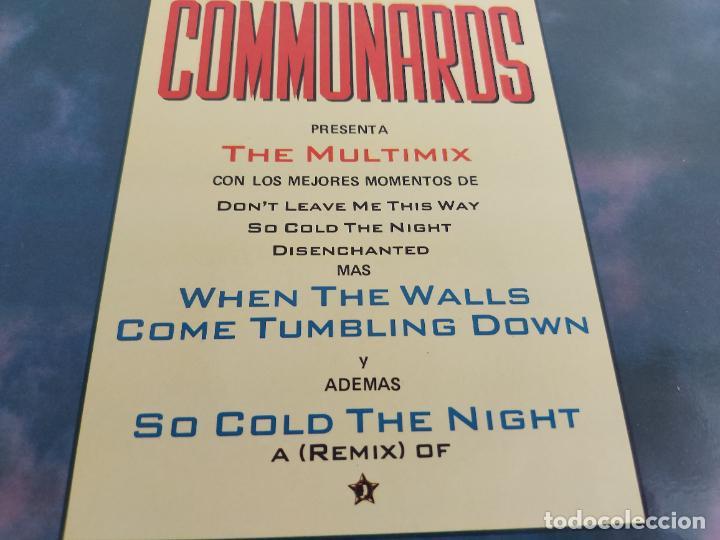 Discos de vinilo: COMMUNARDS / THE MULTIMIX / MAXI SG - LONDON-1987 / MBC. ***/*** - Foto 3 - 266210698