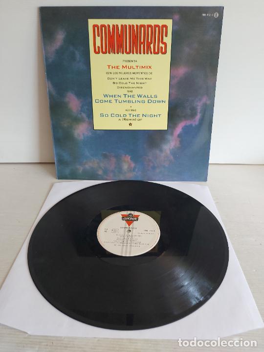 COMMUNARDS / THE MULTIMIX / MAXI SG - LONDON-1987 / MBC. ***/*** (Música - Discos de Vinilo - Maxi Singles - Disco y Dance)