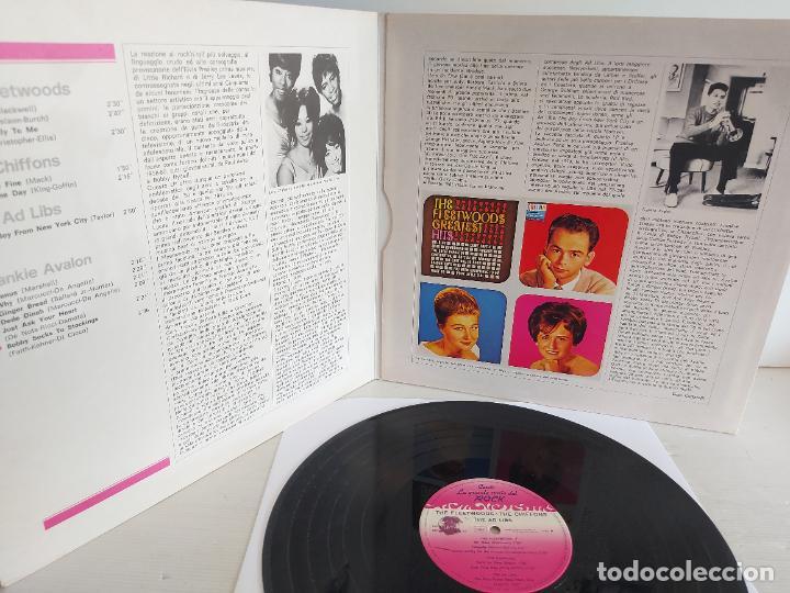 Discos de vinilo: LA GRANDE STORIA DEL ROCK / 4 / VARIOS ARTISTAS / LP-GATEFOLD - CURCIO / MBC. ***/*** - Foto 2 - 266212713