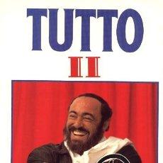 Discos de vinilo: PAVAROTTI ··· TUTTO PAVAROTTI II - (LP DOBLE 33 RPM) ··· NUEVO. Lote 266226993
