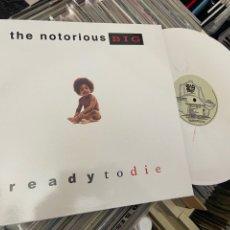 Discos de vinilo: THE NOTORIOUS BIG READY YO DIE LP DISCO DE VINILO BLANCO. Lote 266235073