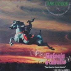 Discos de vinilo: LUIS COBOS LP PORTADA DOBLE EDITADO EN ESPAÑA POR EL SELLO CBS AÑO 1991 COMO BAILAN LOS CABALLOS AND. Lote 266247888