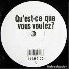 Discos de vinilo: THE AMAZING – QU'EST-CE QUE VOUS VOULEZ? BELGIUM. Lote 266259223