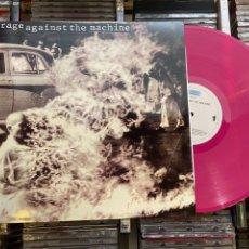 Discos de vinilo: RAGE AGAINST THE MACHINE LP DISCO DE VINILO ROSA. Lote 266263433