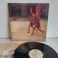 Discos de vinilo: PAUL SIMON / THE RHYTHM OF THE SAINTS / LP - WARNER BROS-1990 / MBC. ***/*** LETRAS.. Lote 266265033